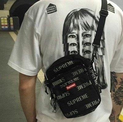 全新正品 Supreme 41th Shoulder Bag 3M反光 肩背包 小包 側背包 斜背包 腰包 男女 黑白紅