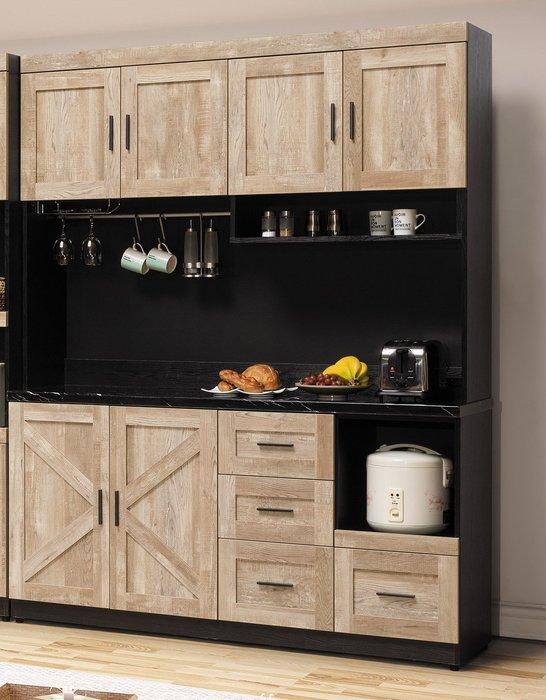 里斯本 石面5.3尺餐櫃  👍台灣製造👍另有系列家具😊暖暖屋傢俱傢飾😊