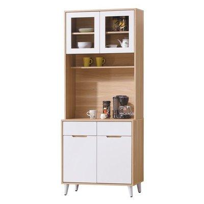 【HB384-01】伊登北歌2.7尺餐櫃