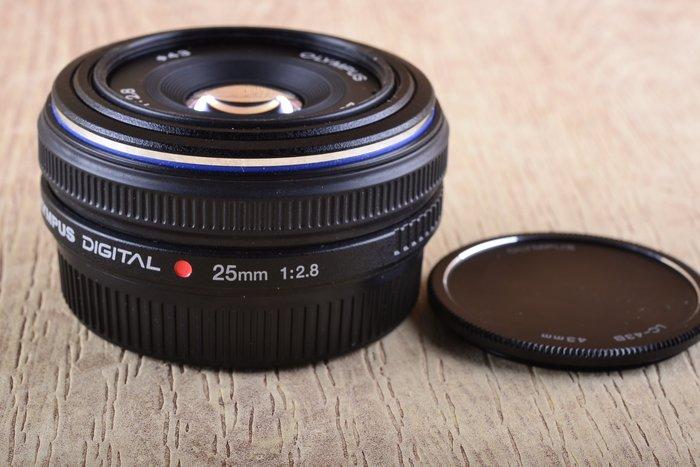 【台中品光攝影】Olympus 25mm F2.8 43口 餅乾鏡 定焦 人像 #47940