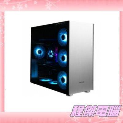 『高雄程傑電腦』JONSBO 喬思伯 C4S 雙面鋼化玻璃 C4 2小 ATX 全機鋁鎂合金 電腦機殼【免運費】
