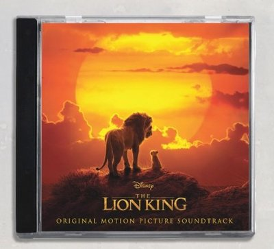 歐版CD迪士尼電影原聲帶《獅子王》 /The Lion King全新未拆