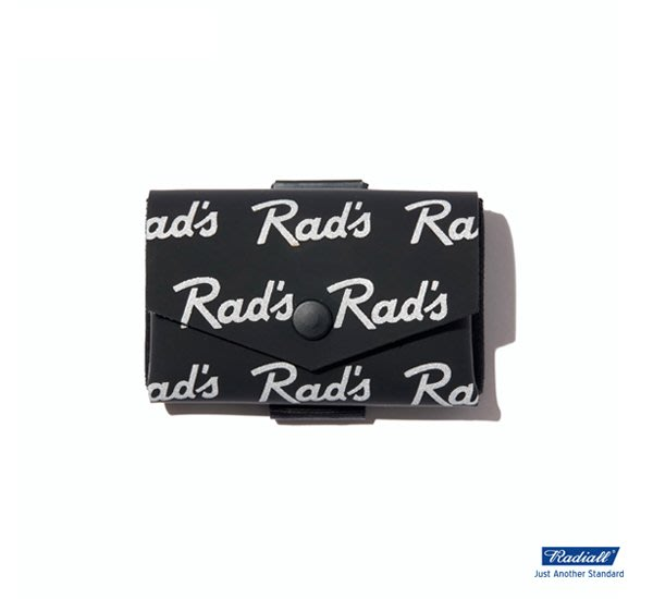 GOODFORIT / 日本Radiall x COM-ONO RAD'S TINY WALLET霧光牛皮袖珍皮夾/兩色