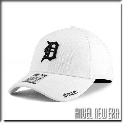 【PD帽饰】【ANGEL NEW ERA 】 MLB Old Fashioned Cap D 底特律 老虎 白黑 老帽 獨家/限量