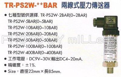 【米勒線上購物】壓力計 Lutron TR-PS2W-BAR 兩線式壓力傳送器
