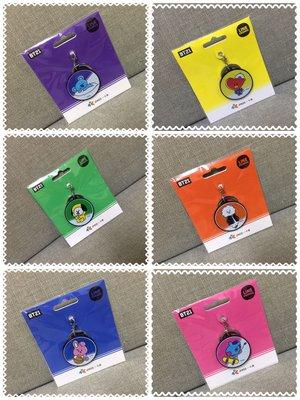【無限美好】現貨!韓國天團防彈BT21 Hang Out 造型一卡通/捷運卡/儲值卡/交通卡/鑰匙圈/吊飾
