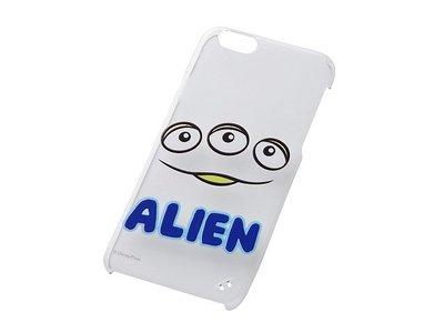 尼德斯Nydus~* 日本 迪士尼 玩具總動員 三眼怪 硬殼 手機殼 透明 大臉款 4.7吋 iPhone6