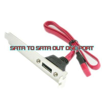 小白的 工場~PCI SATA 外接轉接檔片 1 PORT ~ SATA~CBL~009