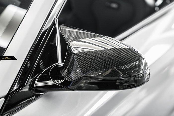 【政銓企業有限公司】F87 M2C competition 專用 熱壓 乾碳 替換式 後視鏡蓋 現貨 免費安裝