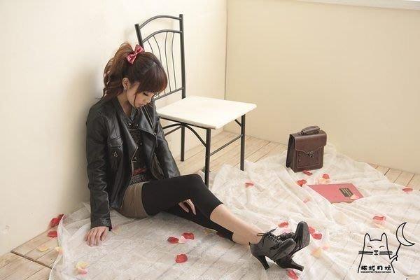 【拓拔月坊】日本知名品牌 M&M Frifla 80丹 八分丈 8分丈 素面內搭褲 日本製~現貨!