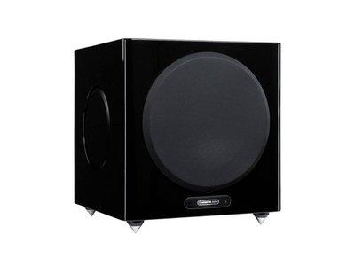 桃園專賣店 名展音響 英國Monitor Audio 新款金Gold W12 低音喇叭