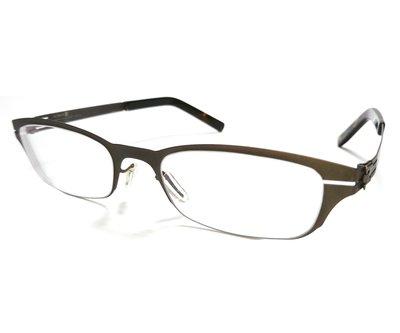 二手原廠正品 ic! berlin Model Nameless 13 德國製中性時尚輕薄無螺絲設計金屬框眼鏡框鏡架