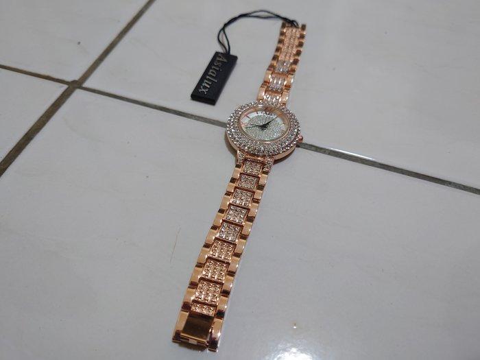 帶晶鑽手錶