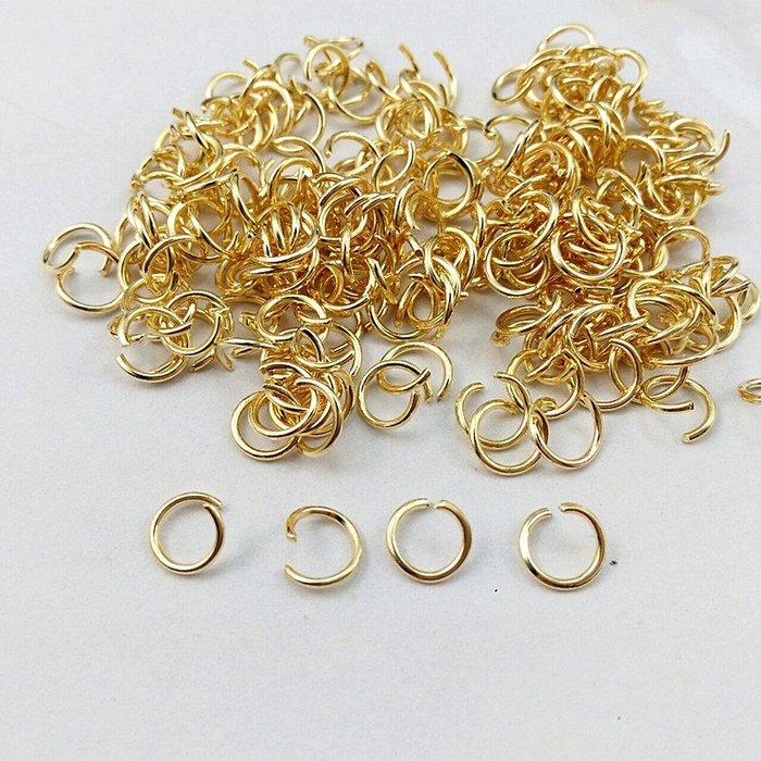 圈圈鐵環 diy配件材料手工圓圈掛環環手機連接手鏈連接環開口圈圈(220元以上發貨,購買數量,規格不同價格不同