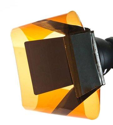 呈現攝影-閃光燈濾色片(Orange橙) FORMATT A2 矯色用 色溫片 攝影燈 錄影燈 LED燈 580EX II ※