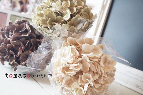 ˙TOMATO生活雜鋪˙日本進口雜貨仿真四片葉花束婚禮佈置櫥窗擺設