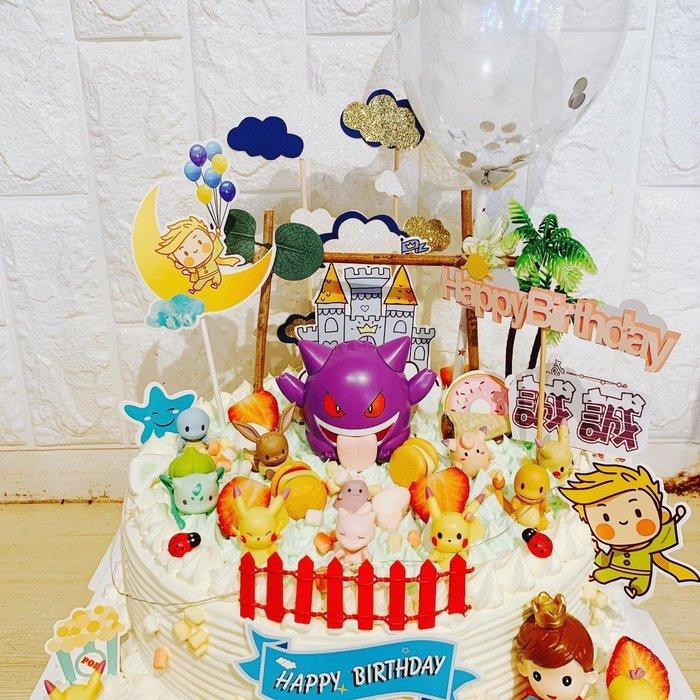 ❤歡迎自取 ❥ 雪屋麵包坊 ❥ 皮卡丘款式 ❥ 神奇寶貝系列 ❥ 十 吋生日蛋糕 ❥❥ 85 折優惠中