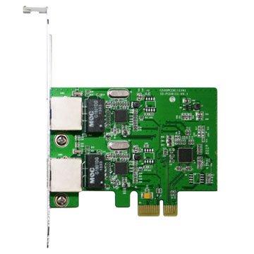 伽利略 PCI-E GIGA LAN 2 埠-擴充卡(PETL02A)