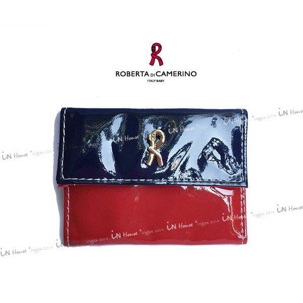 IN House* 日本雜誌附錄 贈品 經典紅藍 迷你 零錢包 錢包 皮夾 卡包