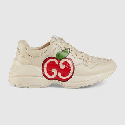 【代購】Gucci Rhyton GG LOGO 蘋果 休閒鞋 老爹鞋 Rhyton GG