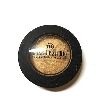 荷蘭彩妝make-up studio 雙色金鑛光眼影  色號 paint it gold 雙金色