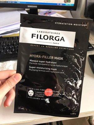 皮卡丘日韓正全球代法國FILORGA菲洛嘉TIME/HYDRA-FILLER MASK逆齡時光黑玻尿酸面膜