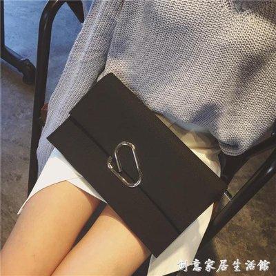 手包女新款韓版潮手拿包簡約個性時尚大容量單肩斜跨百搭氣質