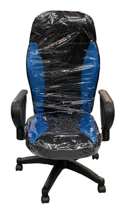 全新庫存家具賣場 新竹地區免運 EA1218AD*全新藍色賽車椅*會議桌 辦公傢俱 辦公鐵櫃 北中南運送 新竹全新家具