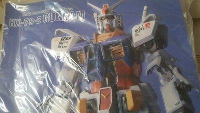 日本造 罕有 全新 高達 鋼彈 Gundam RX 78-2 3D Poster 激凸 立體 海報 Bandai Made in Japan