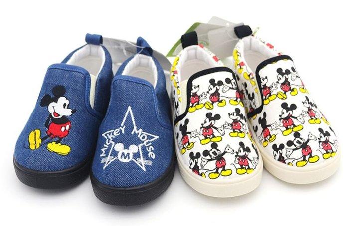 米奇布鞋兒童休閒懶人鞋帆布鞋板鞋樂福鞋( 孩童區 ) /CG5