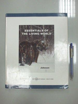 6980銤:D6-4cd☆2006年出版『Essentials of the Living World』Johnson