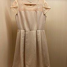 Iris girls 粉色洋裝 M size