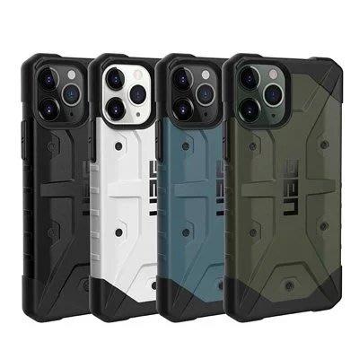 免運費 蘋果 美國軍規 UAG  iPhone 11 Pro Max 翻蓋式耐衝擊保護殼-黑 保護殼 保護套 防摔背蓋