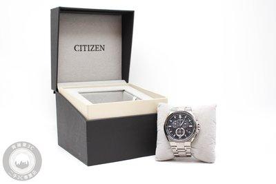【高雄青蘋果3C】CITIZEN BY0074-50E 44MM 電波錶 光動能 鈦金屬錶殼錶帶 二手手錶#59476