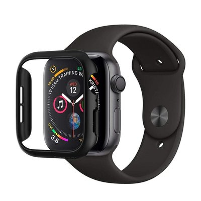 公司貨美國 Spigen Thin Fit for Apple Watch 4/5/6/SE Case 黑色外框保護殼
