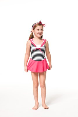 A&T*SARBIS*【台灣製】女童連身泳衣(附帽)$原價1180~B882001 10~14 雲林縣