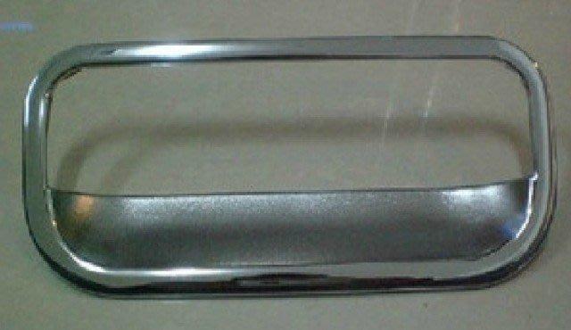日產 2007~2013 LIVINA  專用 尾門電鍍門碗+不鏽鋼把手
