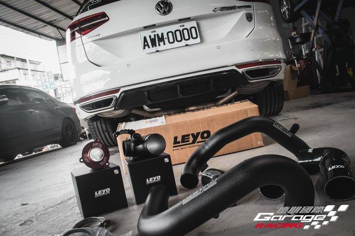 德朋國際/ LEYO Volkswagen Passat380  增流管 / 進氣歧管 / 鋁合金強化渦輪管 實裝