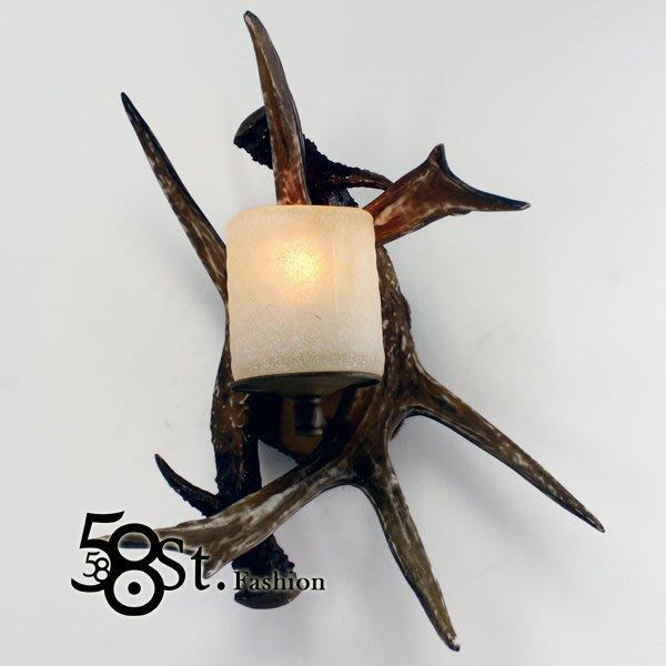 【58街】設計師款式「鹿角壁燈」低調時尚設計師的燈。複刻版。GK-355