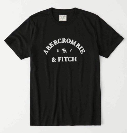 AF Abercrombie & Fitch 麋鹿 短T T恤 美國姐妹屋 藍/白/黑
