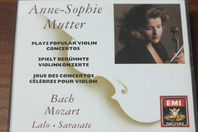 Mutter Plays Popular Violin Concertos-德版,三片裝,無IFPI