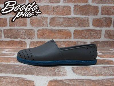 BEETLE 現貨 NATIVE VERONA 鐵灰 湖水藍 雙色 水手鞋 GLM18-074 W5 22CM 女生