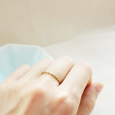 [ Cami Handicraft ] Lady點點戒指 - 純銅款 客製化手作商品 極細精緻設計 適合和他款戒指搭配