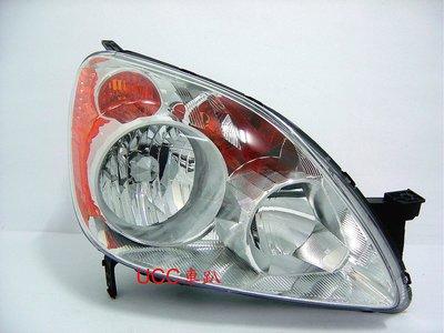 【UCC車趴】HONDA 本田 CR-V 2代 05 06 CRV 二代 原廠型 晶鑽大燈 一組4600 TYC製