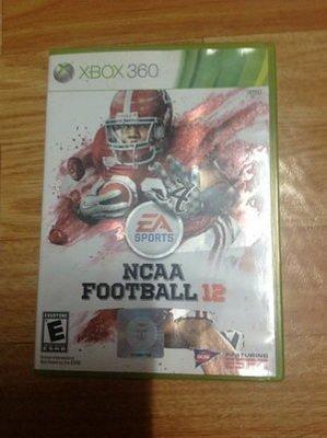 Xbox 360 NCAA Football 12