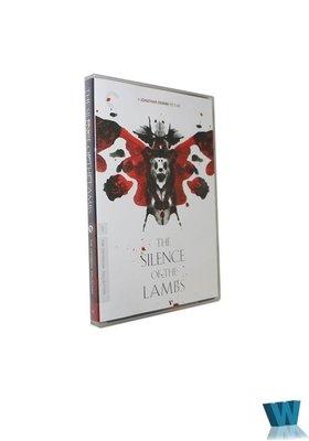 【樂視】 純英文版 沉默的羔羊DVD 高清電影光盤碟片 無中文 精美盒裝