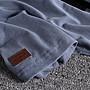 ☆Mr.☆美式街頭復古棕熊植絨圖案簡百搭水洗短袖T恤上衣(四色)~預購+現貨