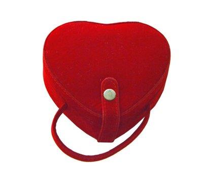 包包 撿便宜 紅色 彩妝盒 彩妝箱 化妝箱 收納箱 C-039