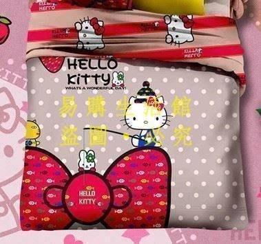 [王哥廠家直销]Y款 KT kitty 雙人床件組 床包組(被套/枕頭套/床包)-1.5MLeGou_3093_3093