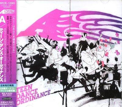 K - A - Teen Dance Ordinance - 日版+2BONUS - NEW